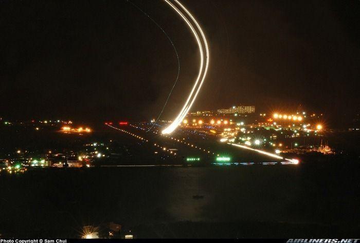 Samoloty i długi czas naświetlania 9