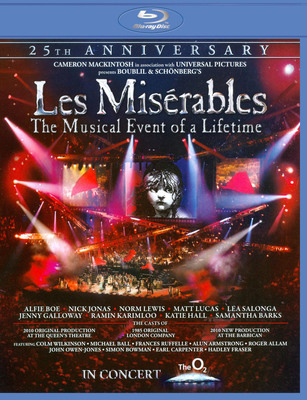 Les Miserables in Concert The 25th Anniversary (2010) Blu-ray 1080p VC-1 DTS-HD 5.1 Sub-Ita