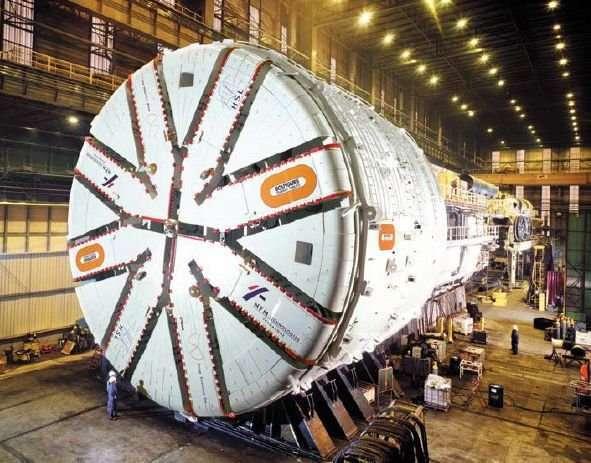 TBM - maszyny-krety drążące tunele 4