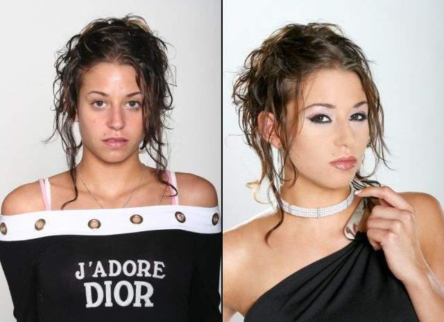 Ile zmienia dobry makijaż? 8