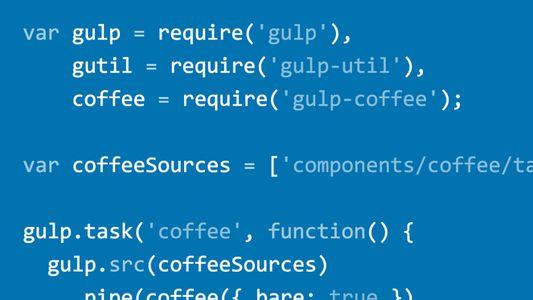 Video2Brain Webprojekt-Workflows mit Gulp js Git und Browserify