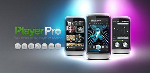Android PlayerPro Music Player 3.94 + DSP-Pack & Widget Pack