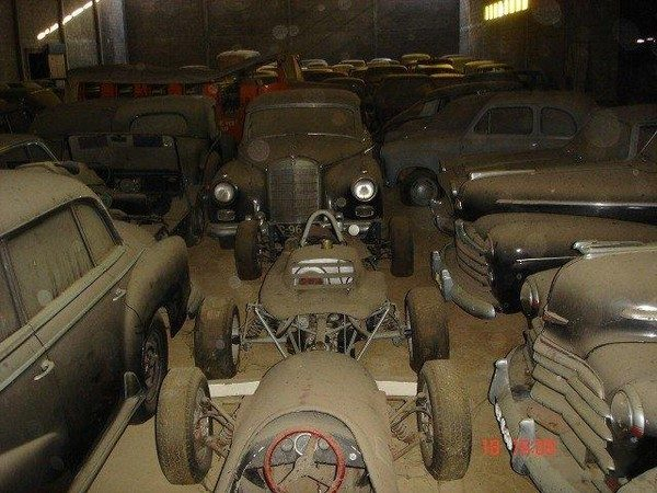 Zapomniana kolekcja samochodów 9