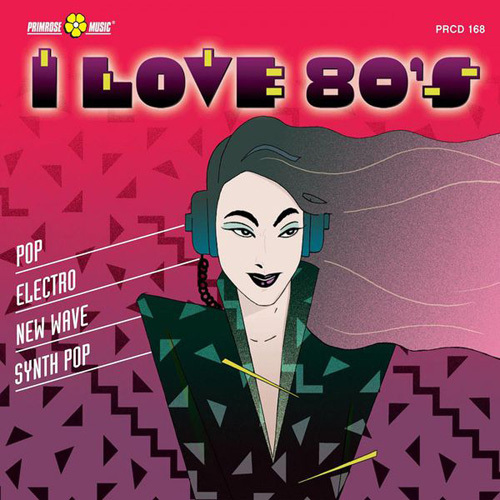 VA - Catharine Courage - I Love 80's (Pop, Electro, New Wave, Synth Pop) (2014)