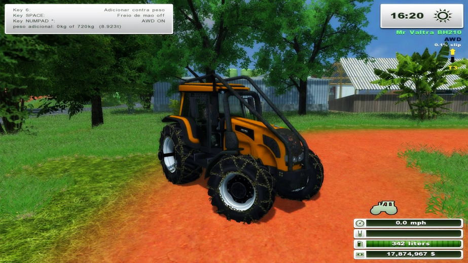 VALTRA BH 210 GIII MR FORSTMOD VERSION