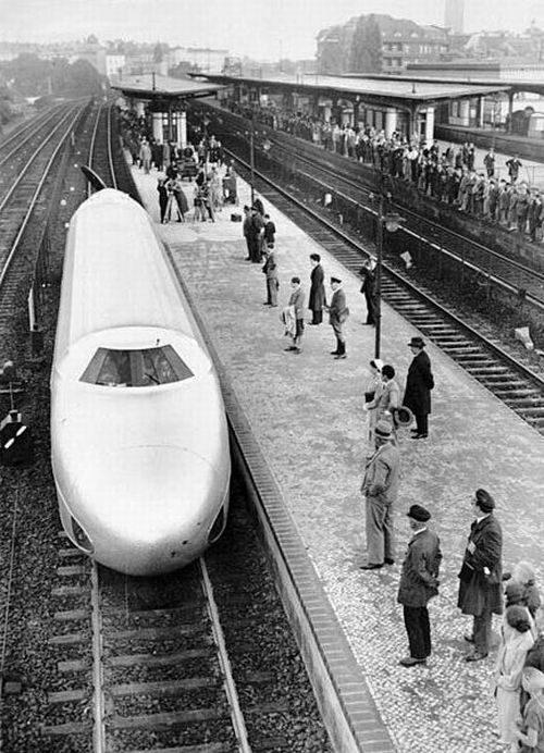 Schienenzeppelin - samolot na torach 1