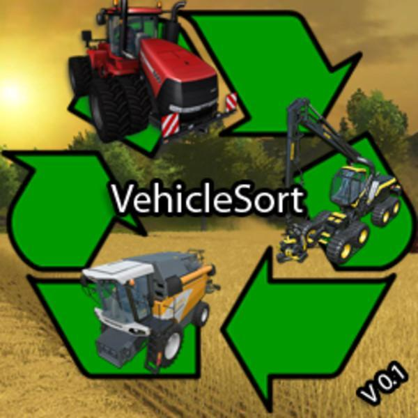 Vehicle Sort v0.3