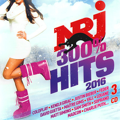 NRJ 300% Hits 2016 [3CD] (2016) .mp3 - 320kbps