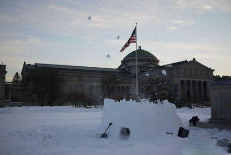 Śniegowe budowle 39