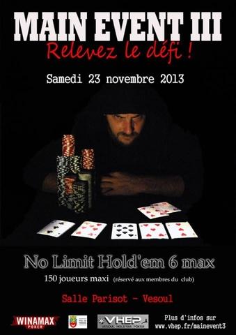 Vesoul - Main Event #3 - 6max 150 joueurs - 23 Novembre 2013 Vhep_210flkv1