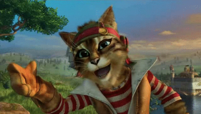Çizmeli Kedi Ekran Görüntüsü 1