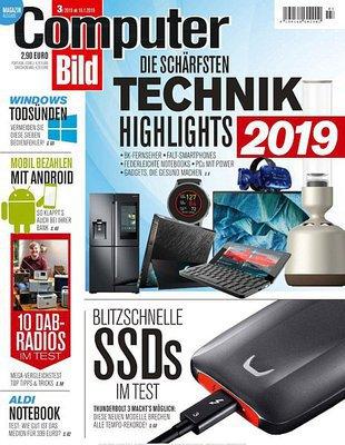 Computer Bild Magazin No 03 vom 18 Januar 2019