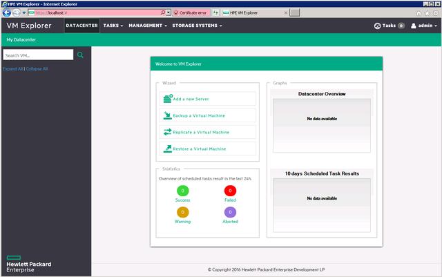 HP VM Explorer Enterprise v6.7.1