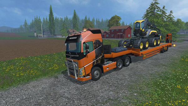 Volvo FH16 2012 Transport Pack v1.0