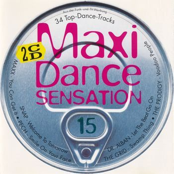 VA - Maxi Dance Sensation - Vol. 15 (2 CD) (1994)