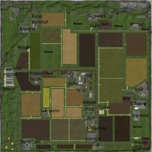 VOSS VILLAGE MAP V 1.0