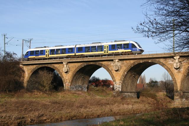VT 4.10 Mächenschine Hildesheim Innerstebrücke