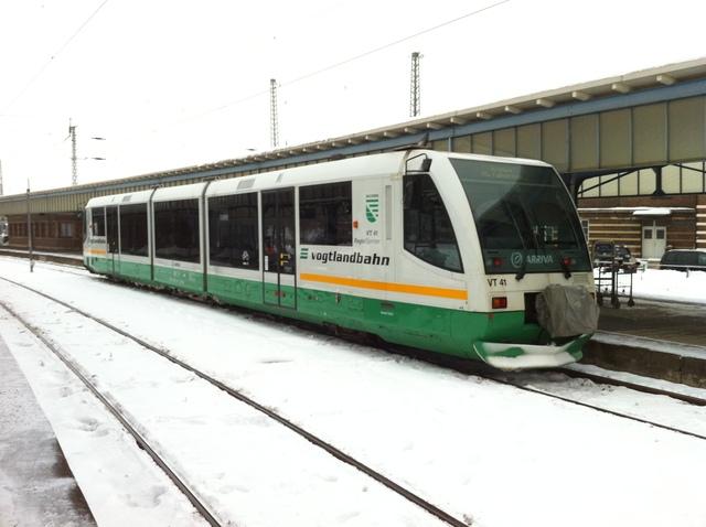 VT 41 Zwickau Hbf
