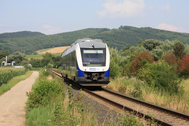 VT 648 186 bei Bad Salzdetfurth Solebad