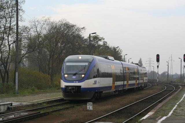 VT 736 Einfahrt Kostrzyn