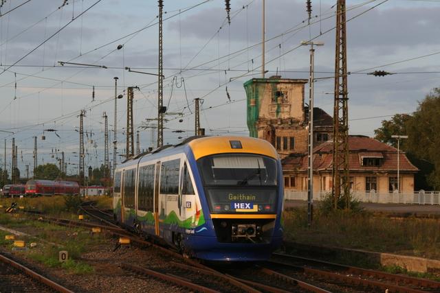 VT 618 Leipziger Land Ausfahrt Leipzig