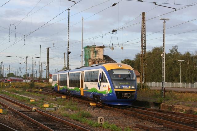 VT618 Einfahrt Leipzig Hbf