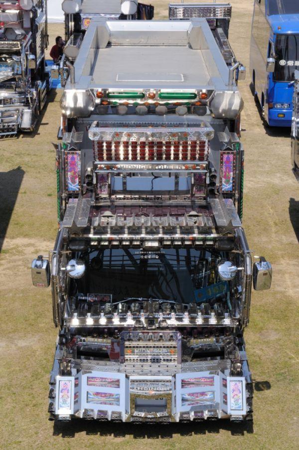 Japońskie ciężarówki 2