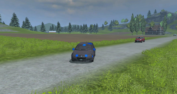VW Golf 5 GTI police v 1.0