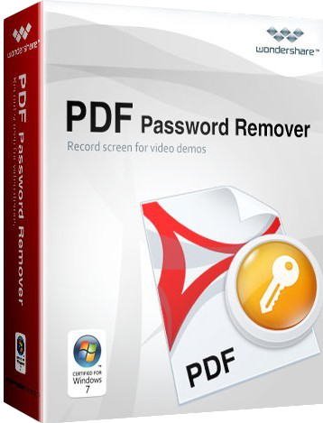 Wondershare Pdf Password Remover v1.5.3.3