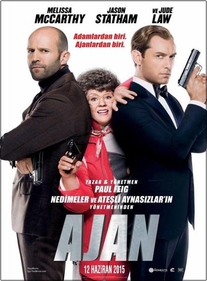 Ajan – Spy 2015 UNRATED BRRip XviD AC3 Türkçe Altyazı – Tek Link