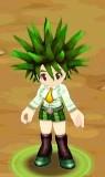 Grüne Schuluniform1