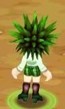 Grüne Schuluniform2