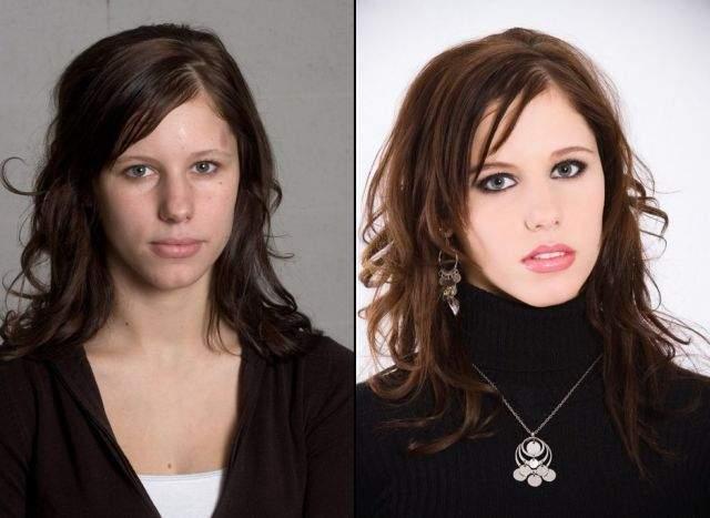 Ile zmienia dobry makijaż? 9