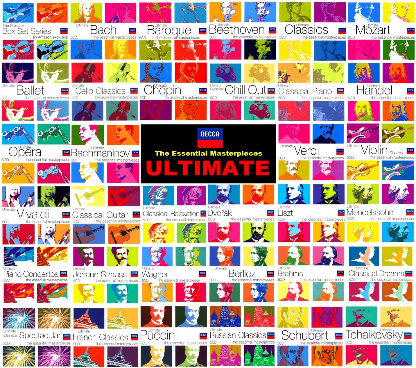 Decca: The Ultimate Box Set Series (170 CD) The Essential Masterpieces (1997-2009)