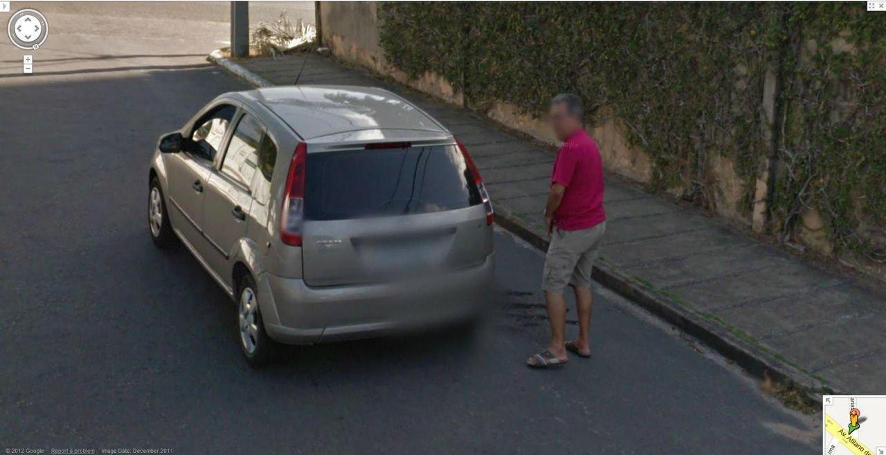 Nietypowe sceny z Google Street View #3 16