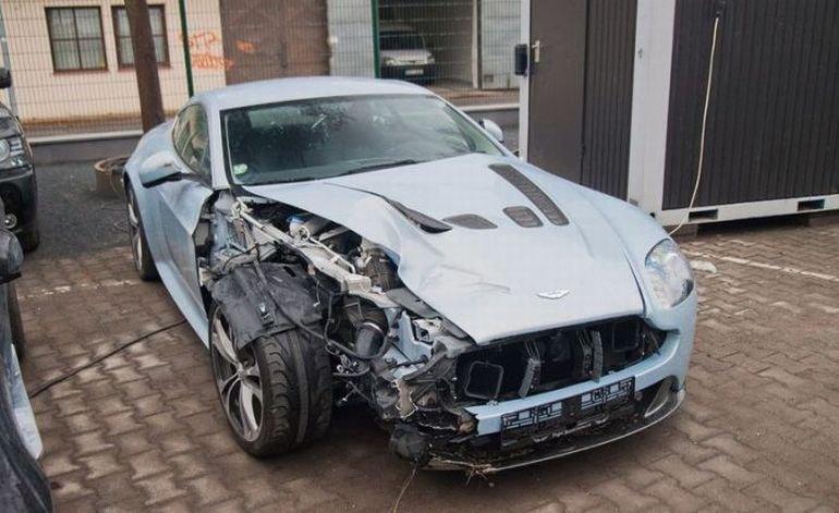 Wypadki najdroższych samochodów #2 12