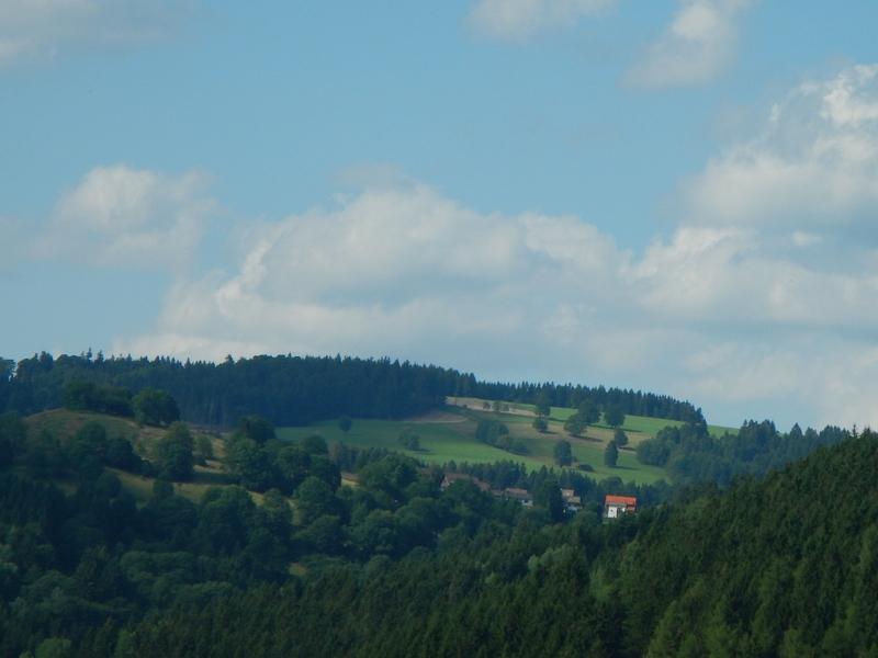 Blick vom großen Eschenberg 2009 und 2014 Warmeslocheschenberg2dquns