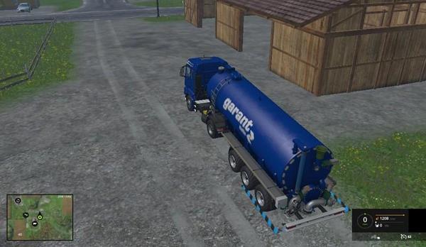 Water Milk Trailer v1.0