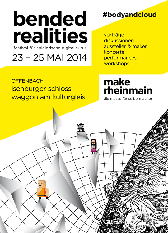 Webflyer bended realities und make rheinmain