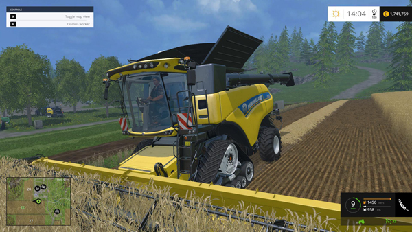 Wet Threshing Damage v1