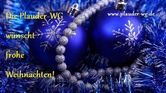 Die Plauder-WG wünscht frohe Weihnachten - Gäste-Lounge - Power ...