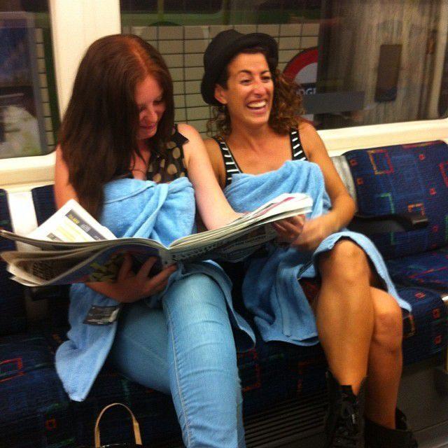 Najdziwniejsi pasażerowie metra 31