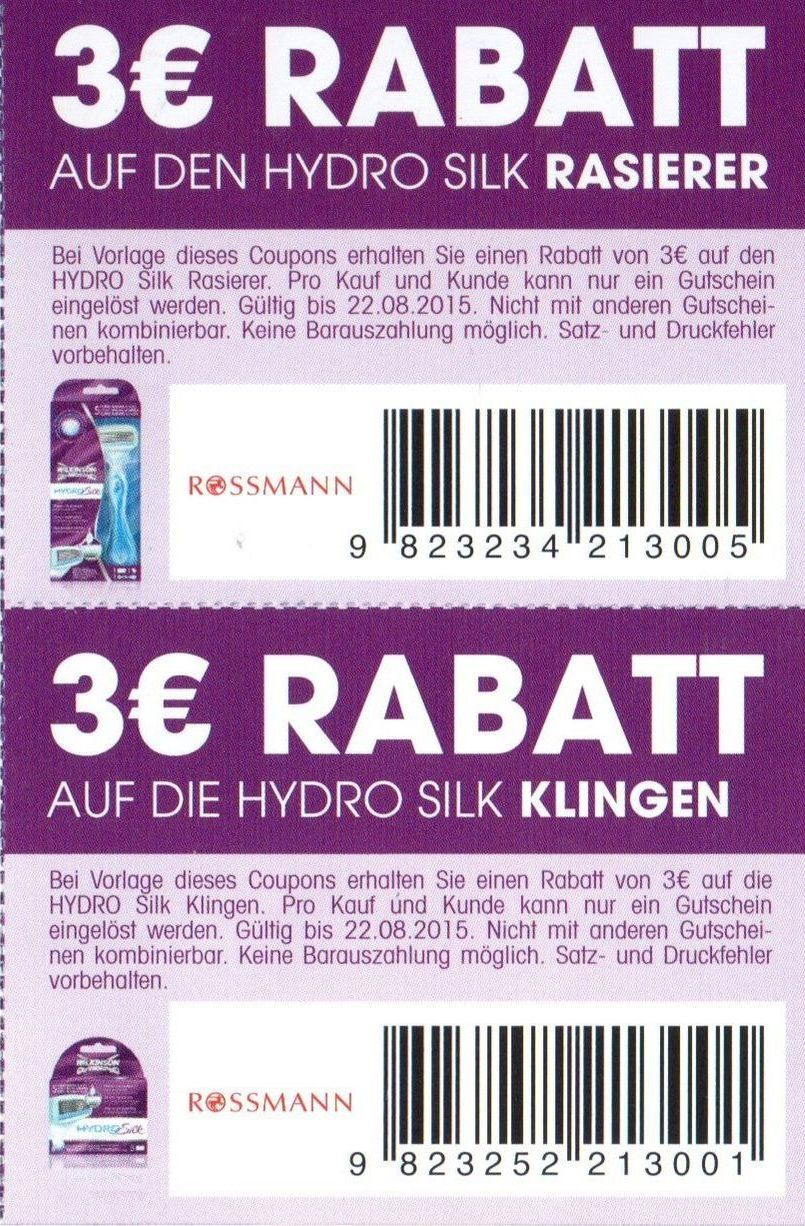 Hydro coupons