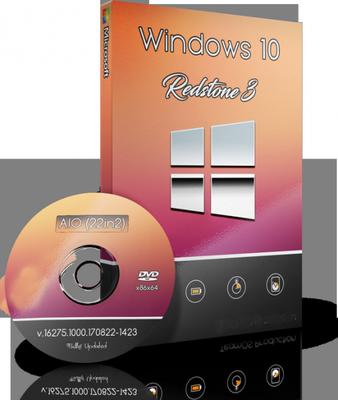 Windows 10 Redstone 3 v16281.1000.170829-1438 AIO 11in1 (x64)