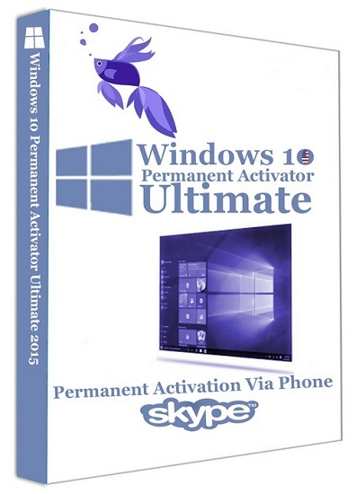 : Windows 10 Permanent Activator Ultimate 1.8
