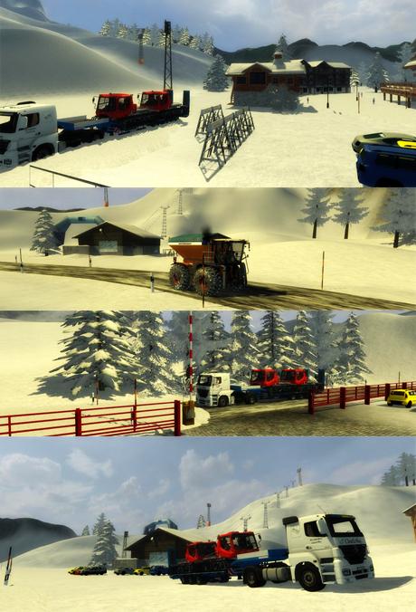 Winter Valley v 1.0 Snow Edition