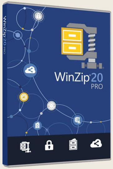 WinZip Pro 20.0 Build 11659g German - 32/64 Bit
