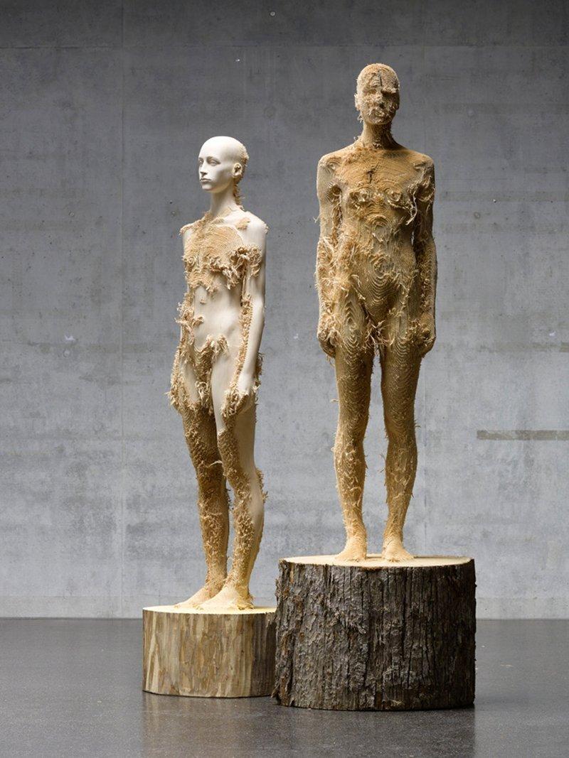 Niesamowite rzeźby z drewna 8