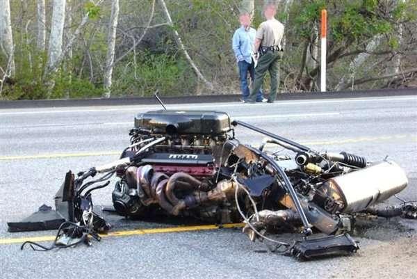 Wypadek Ferrari 5