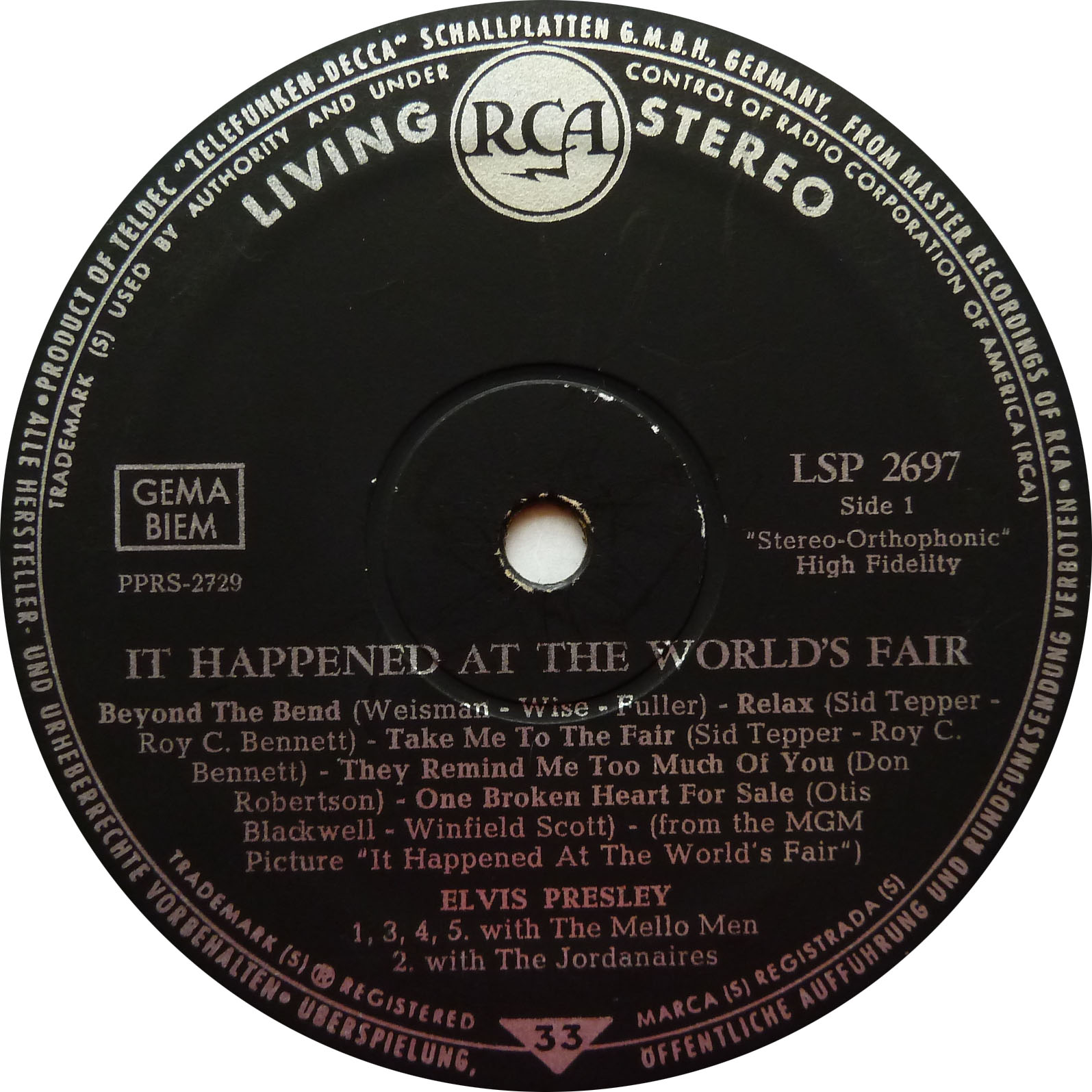 IT HAPPENED AT THE WORLD FAIR Worldsfair63lspside11bjdx